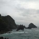 Hiwasa mer agitée