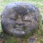 OH - statues moussues détail