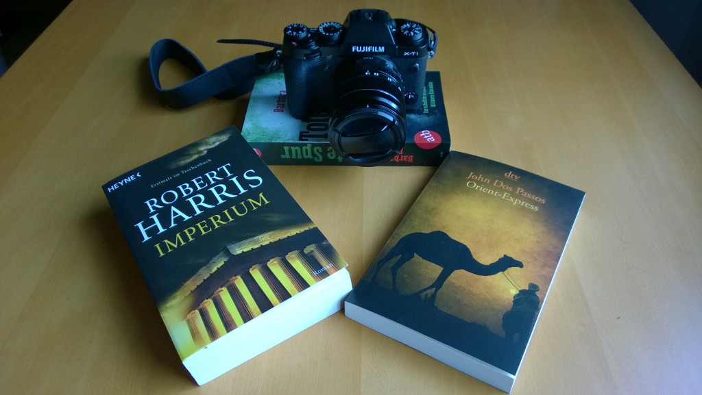 New camera and books