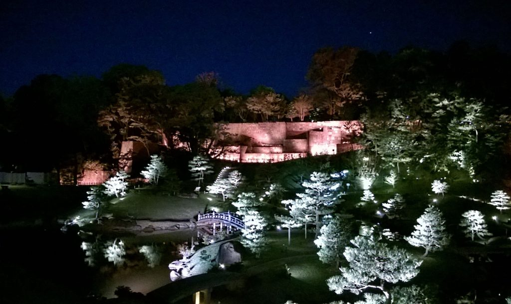 Light-up in Kanazawa
