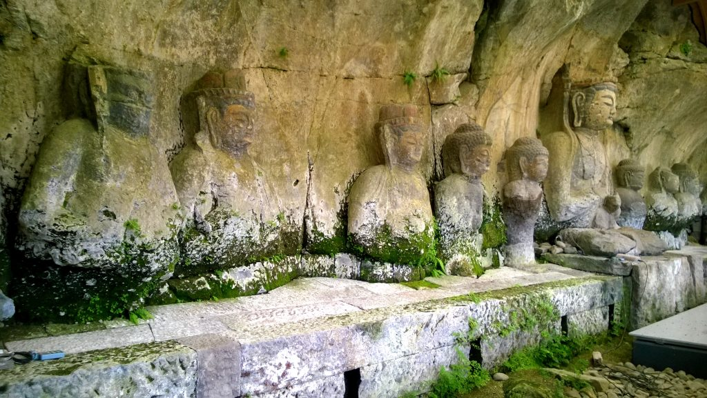 The stone Buddhas of Usuki