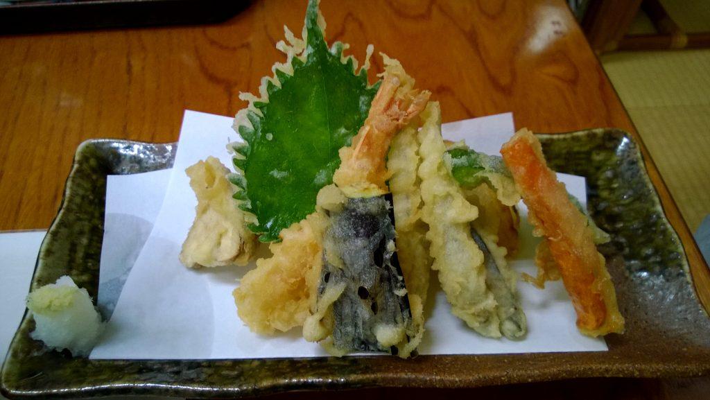 The best tempura ever at Minshuku Takayoshi