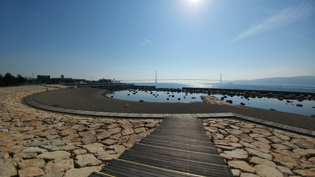 Sea shore of Akashi