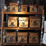 Fushimi caisses de thé